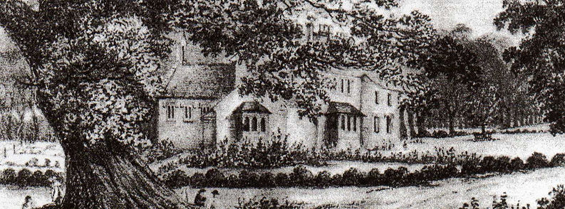 Early etching of the EWVH School by Goodridge