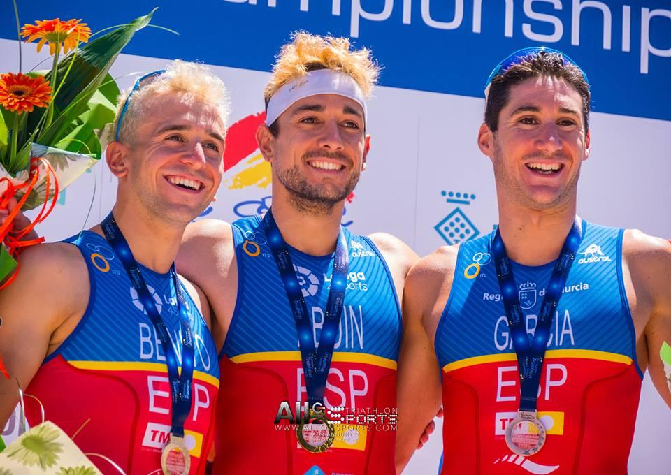 Altafulla European Cup podium