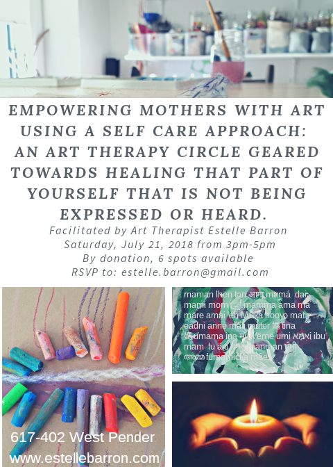 Art Therapy for mothers
