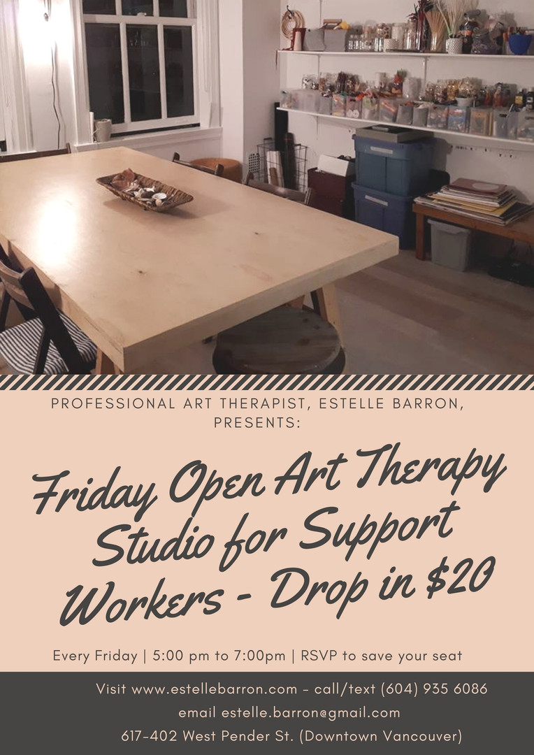 Friday Open Art Therapy Studio for Suppo