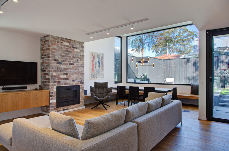 Architectural photography Sydney | Balmain Home Lounge