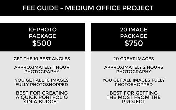 FEE GUIDE TEMPLATE 2A - Office Medium 3