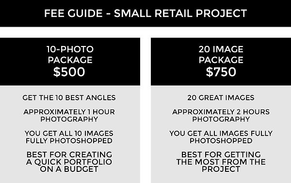 FEE GUIDE TEMPLATE 3A - Retail Project S