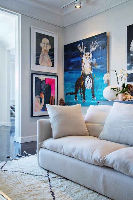 Interior Design Photography Sydney   Sitting Room