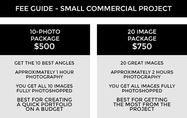 FEE GUIDE TEMPLATE 3A - Commercial Proje