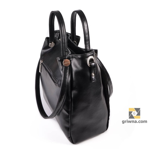 Сумка-рюкзак кожзам с золотыми полосками рюкзак мася купить
