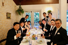 社員の結婚式