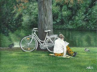שלווה בפארק