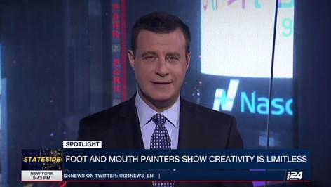 Netta Ganor on i24News