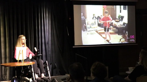 נטע גנור - קטע מתוך ההרצאה 'לצייר מציאות'