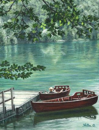 שלווה באגם 2