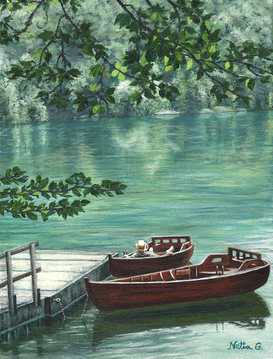 Serenity by the Lake II