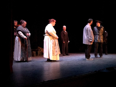 The Crucible Cast Act 2 Scene 3