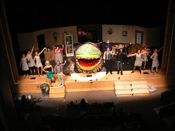 Liitle Shop of Horrors finale