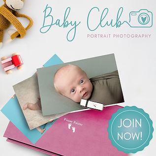Baby club print box [portrait photograph