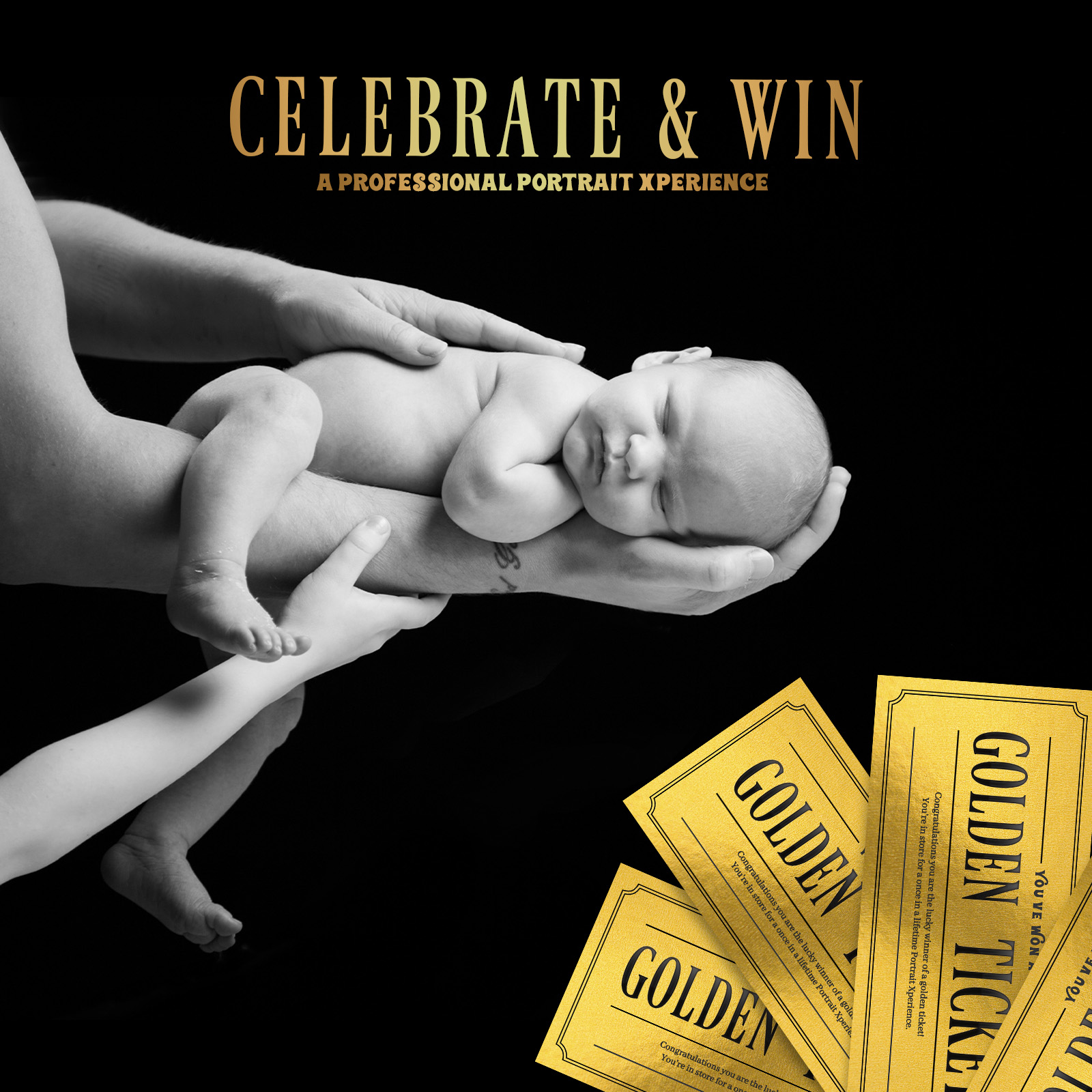 Celebrate & Win Golden Ticket