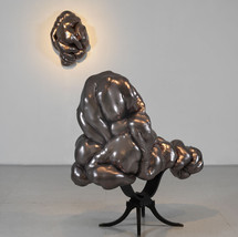 Conversation Piece (reclining) with Poseur