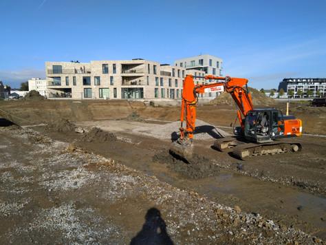 Schelde-Eiland Oudenaarde: Thys Bouwprojecten start  bouwwerken FASE 2!