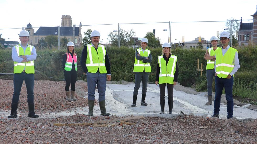 Eerste fase parkeergebouw aan Keerdoksite opgestart