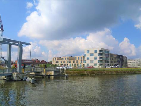 Een fietsbrug aan Schelde-Eiland!