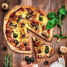 Flatbread Pizza Dough Gastronomy by Jon