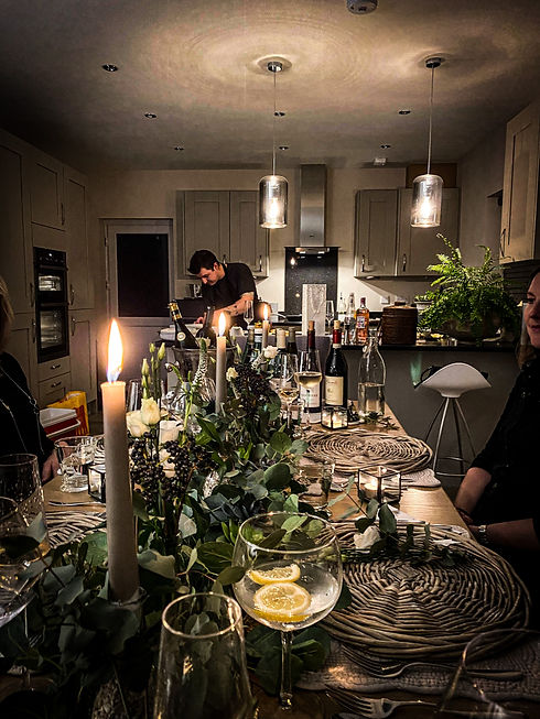 Dinner Party_Private Dining_South Wales_