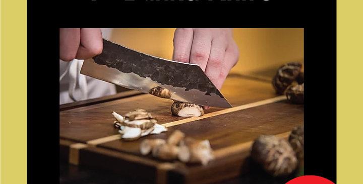 "Forge to Table 7"" Bunka Knife"