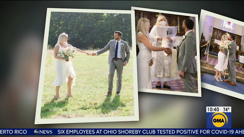 Nicole and Mike's Microwedding Featured on GMA!