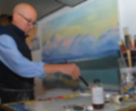 Patrick Wise, Wedding Artist, In Studio