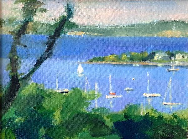 Harbor Bluff, Harbor Spring, MI, Patrick Wise, Artist