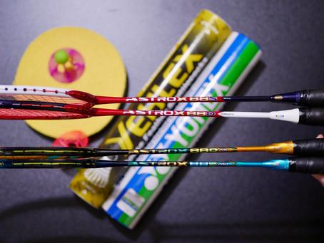 Yonex Astrox 88S Pro and 88D Pro vs 2nd Generation Astrox 88 Badminton Rackets