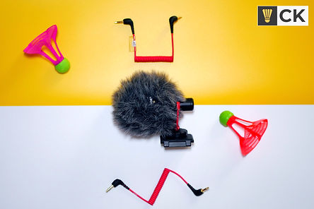 Rode Video Micro Mic Side and Cables CKY