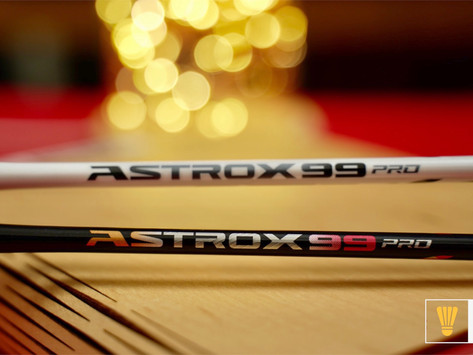 Yonex Astrox 99 Pro Review - White Tiger or Cherry Sunburst?