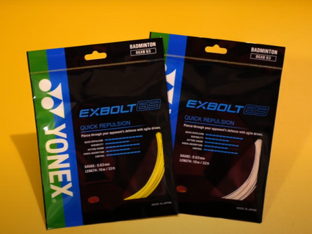 Yonex Exbolt 63 Badminton String Review