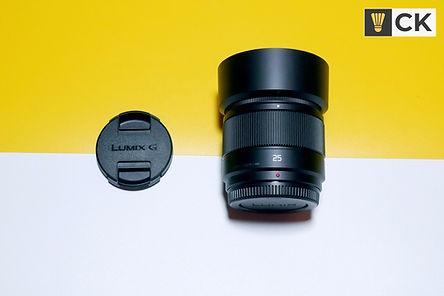 Panasonic LUMIX 25mm f1.7 Prime Lens CKY