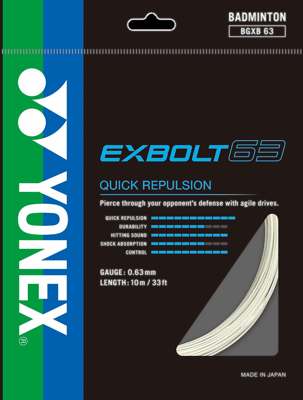Yonex Exbolt 63