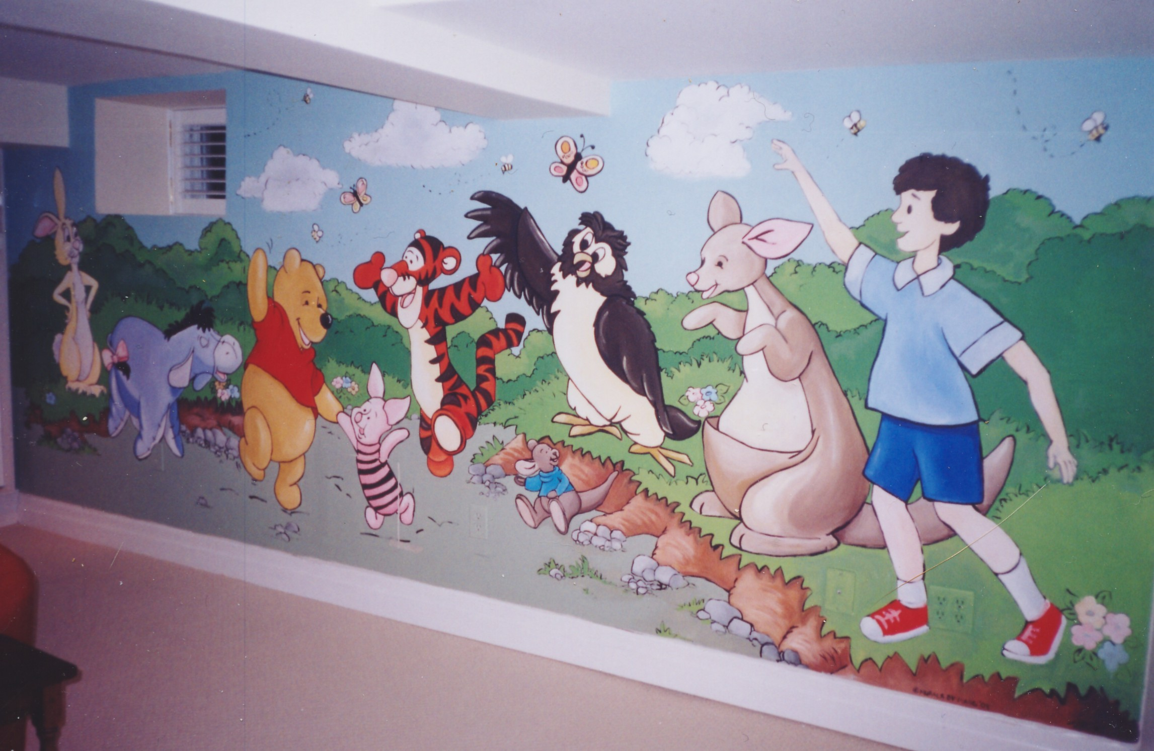 Murals By Marg Winnie and Friends Playroom Mural 1.JPG