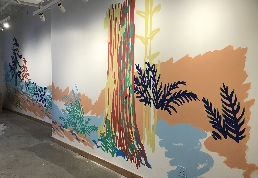 Murals By Marg WeWork HBC Yonge Forest M