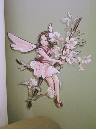 Murals By Marg Green  Room With Flower Fairies 5.JPG