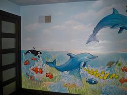 Murals By Marg Safari Mural 24