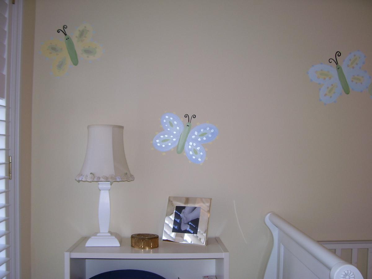 Murals By Marg Butterflies Nusery Mural 2.JPG