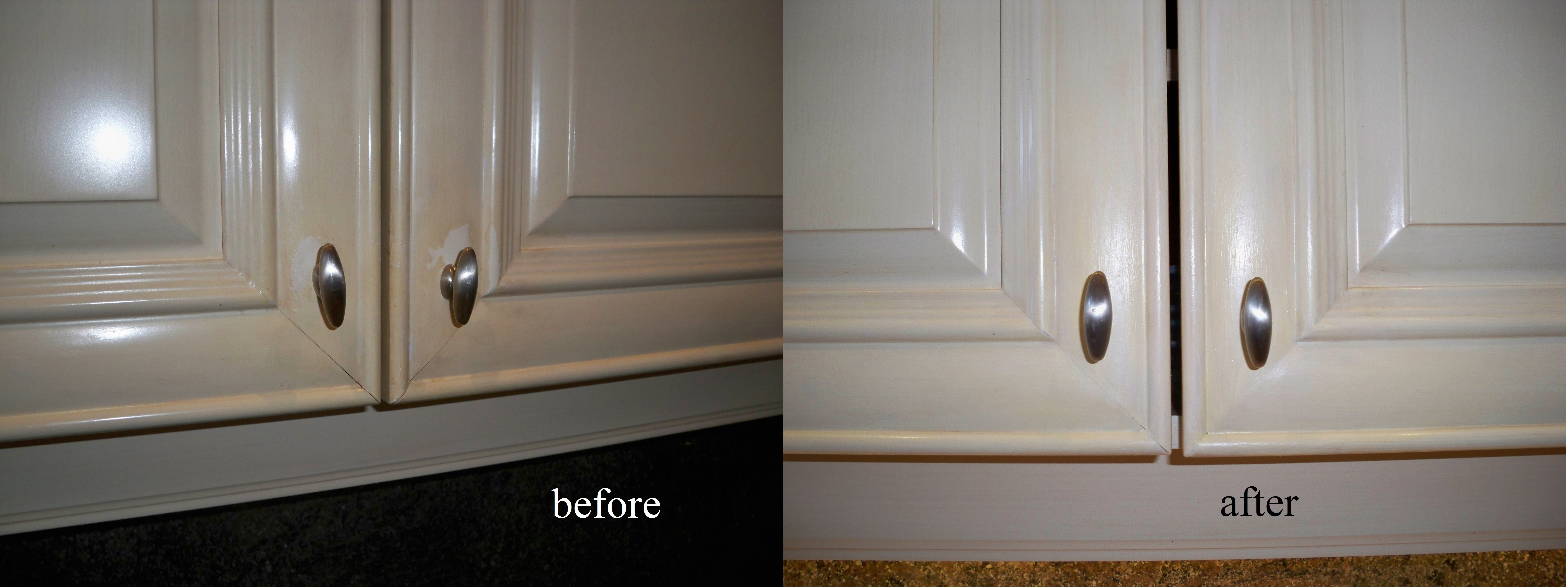 Murals By Marg Kitchen Cabinet repairs before and after.jpg