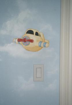 Murals By Marg Airplane Room Mural 2.JPG