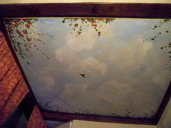 Murals By Marg Open Sky ceiling Mural