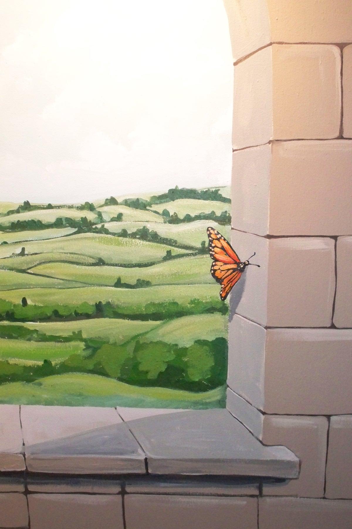 Murals By Marg Butterfly Playroom Mural 2.JPG