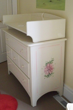 Murals By Marg Hand Painted Furniture Nusery changing table 2.JPG