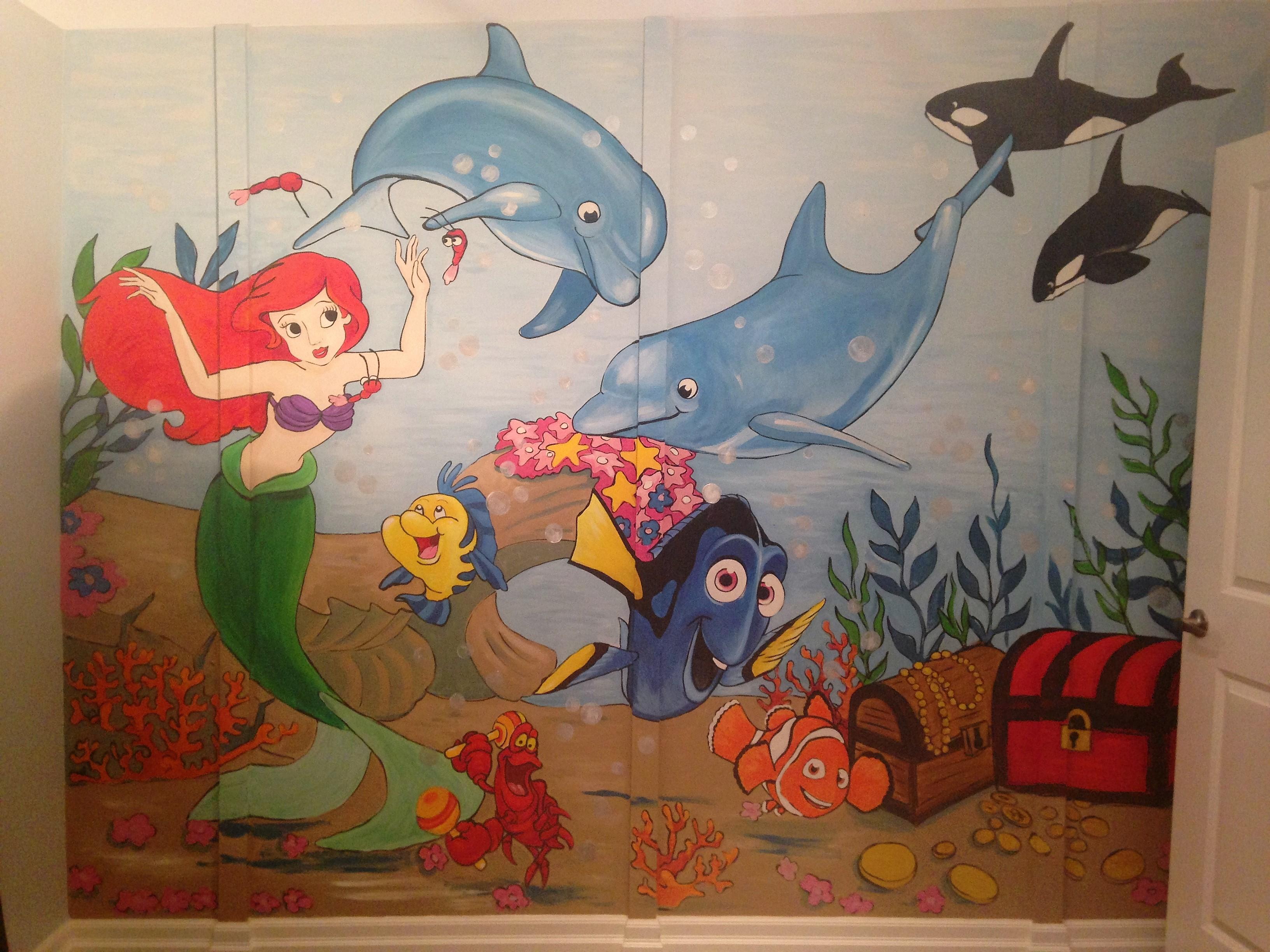 Murals By Marg Ariel Mural