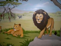Murals By Marg Safari Mural 31