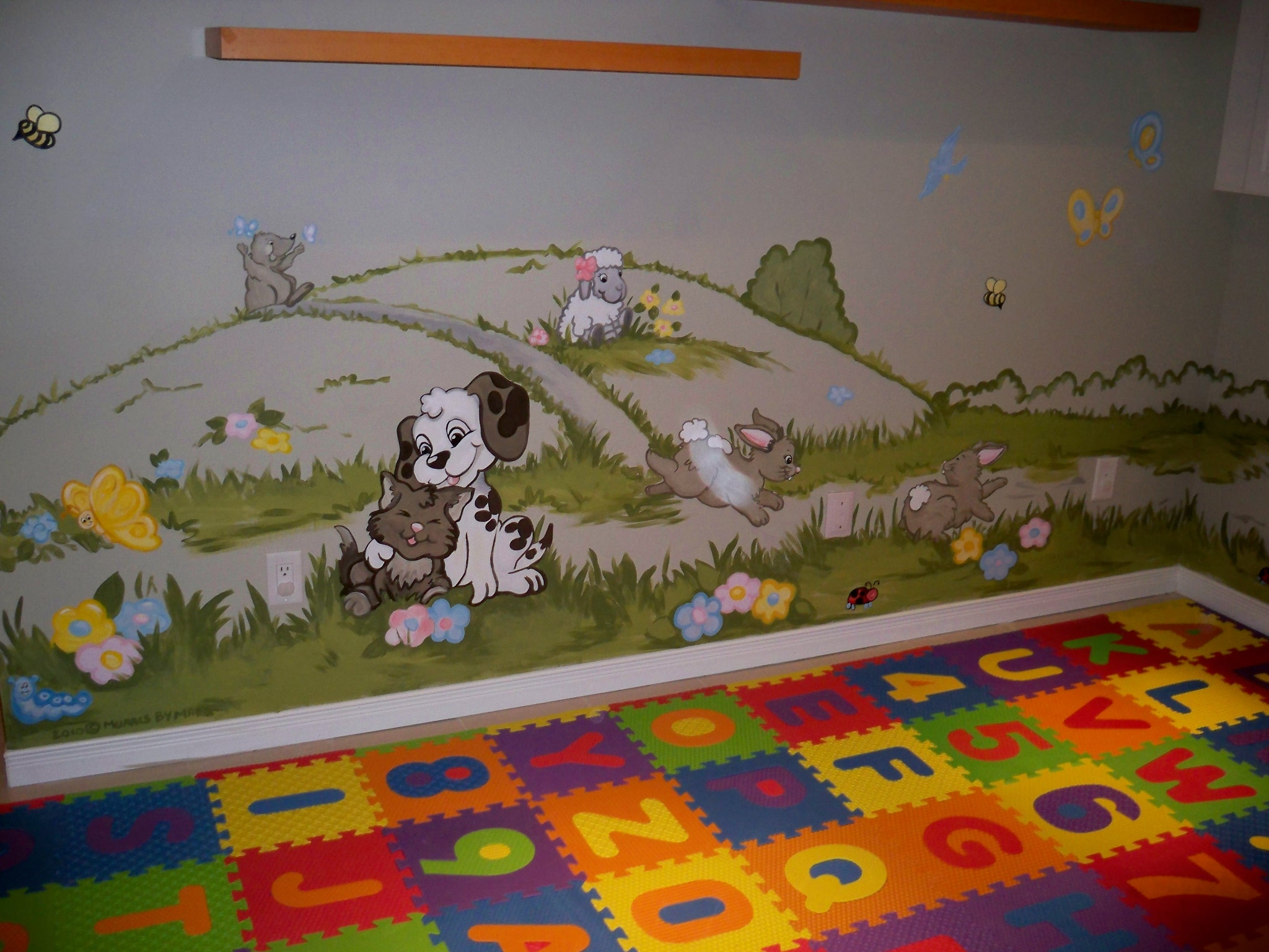 Murals By Marg Genevieve's Playroom Mural 2.JPG