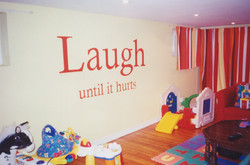 Murals By Marg Laughing